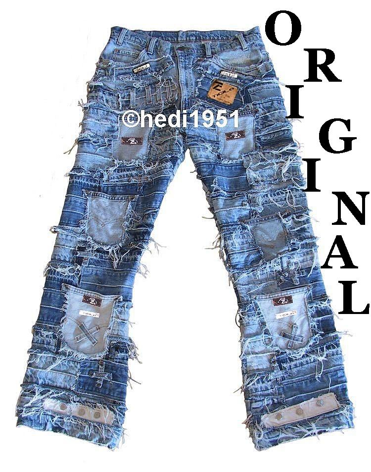 SEVEN STAR Masterpiece Biker Rocker Jeans W//G//L 28 29 30 31 32 33 34 35 36 38 40
