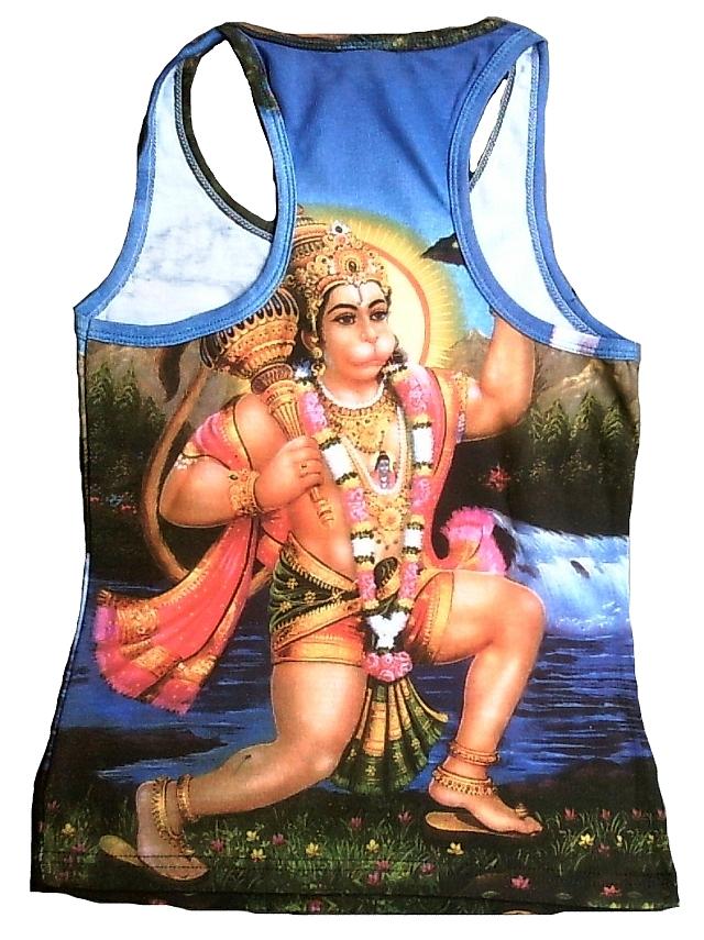 SHIVA+GANESH+PARVATI Hindu Family Goa Dj Tattoo Designer WoW TANK TOP SHIRT S//M
